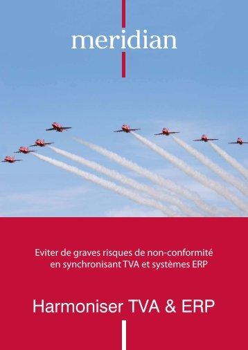 Harmoniser TVA & ERP