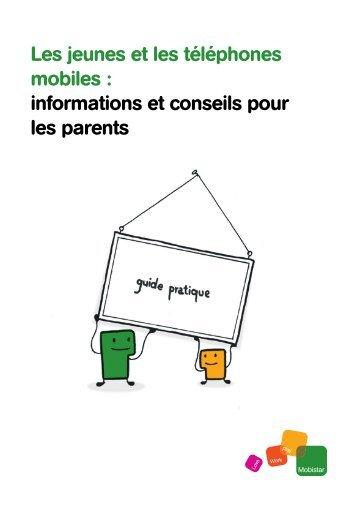 Les jeunes et les téléphones mobiles : informations et ... - Mobistar