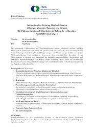Anmeldung und Informationen als pdf-Datei - EMA