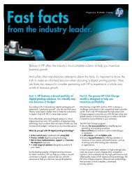 from the industry leader. - HP