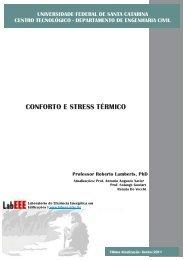Conforto Térmico - Laboratório de Eficiência Energética em ...