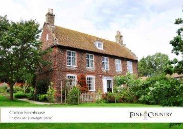 Chilton Farmhouse - Fine & Country