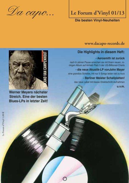 Le Forum d´Vinyl Ausgabe Januar 2013 - Da capo