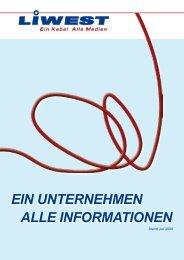 ALLE INFORMATIONEN EIN UNTERNEHMEN ALLE - Liwest