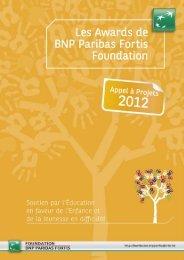 Appel à projets - BNP Paribas