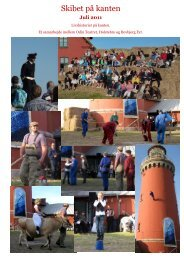 Fotomontage skibet 2011 - Bovbjerg Fyr