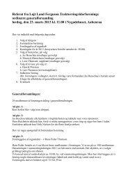 Referat fra foreningens ordinære generalforsamling d. 23. marts 2013