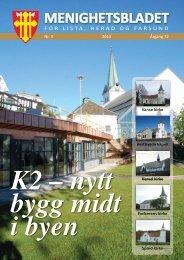 MENIGHETSBLADET - Farsund kirkelige fellesråd > Forside - Den ...