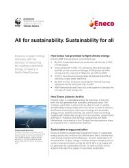 All for sustainability. Sustainability for all