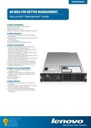 RD120 Datasheet - Lenovo | US