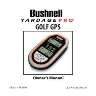 GOLF GPS - Bushnell Golf