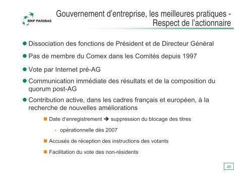 2 294 M€ de PNB pour 9 mois en 2006… - BNP Paribas