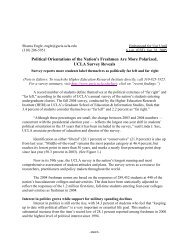 Printer-Friendly Official Press Release - Higher Education Research ...