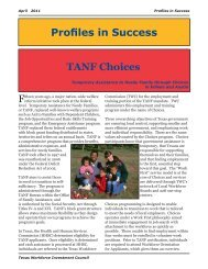 Profiles in Success TANF Choices