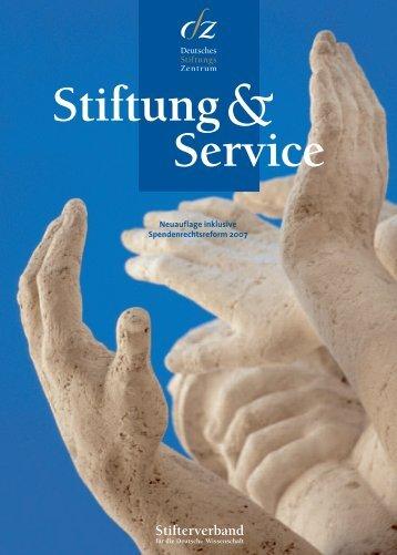 Stiftung Service - Stifterverband für die Deutsche Wissenschaft