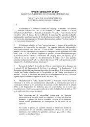 opinión consultiva oc-9/87 garantías judiciales en estados ... - Apple