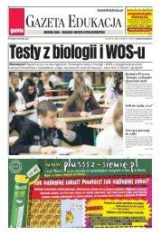 matura 2008 – biologia i wiedza o społeczeństwie - Gazeta.pl
