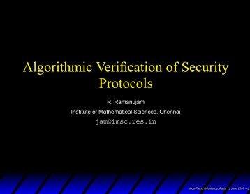 Slides of the presentation