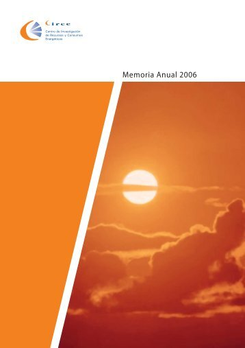 Memoria Anual 2006 - circe - Universidad de Zaragoza