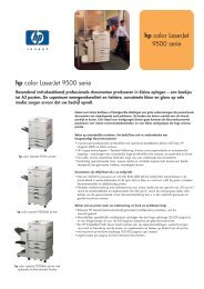 hp color LaserJet 9500 serie hp color LaserJet 9500 serie - VB