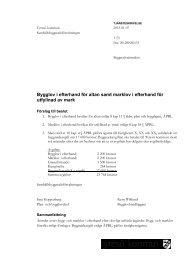 9 Tjänsteskrivelse.pdf - Insyn