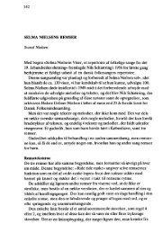 SELMA NIELSENS REMSER Svend Nielsen Med bogen »Selma ...