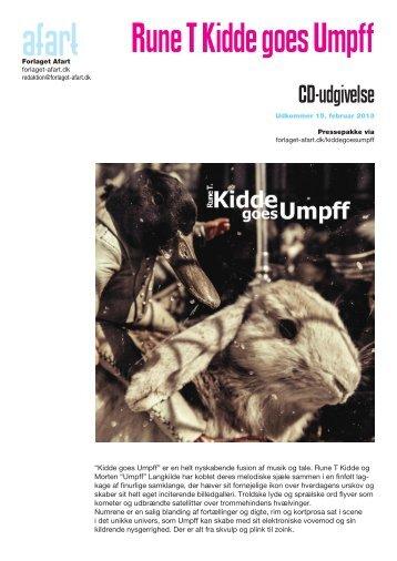 Rune T Kidde goes Umpff - Forlaget Afart