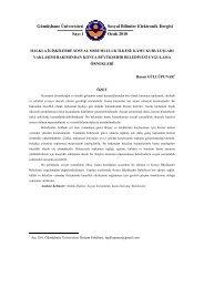 Halkla İlişkiler Sosyal Sorumluluk İlkesi - GÜ SBE Elektronik Dergisi ...