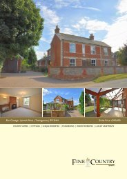 Elm Cottage | Ipswich Road | Tattingstone | IP9 ... - Fine & Country