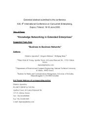 """Knowledge Networking in Extended Enterprises"" - Information ..."