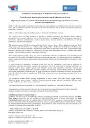 Twelfth International Congress on Mathematical Education (ICME-12)