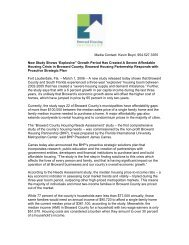 Broward County Housing Needs Assessment Report - Florida ...