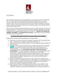 MARSHFIELD MEDICAL CENTER CREDIT UNION ... - Liberty Online