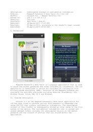Keeper® Password & Data Vault v5.3 for iOS Vendor