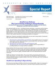 Health Care Reform - Democratic Policy & Communications Center