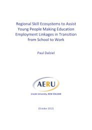 Regional skill ecosystems to assist young people making education ...