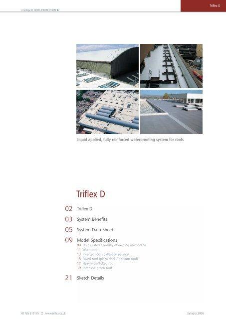 Triflex–D - liquid applied roof waterproofing membrane - CMS