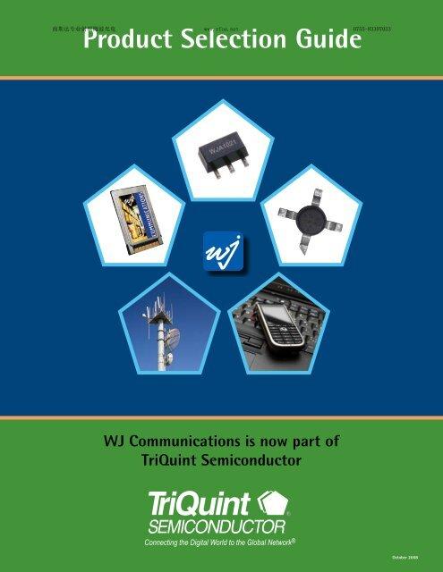 Product Selection Guide - Rfoe.net