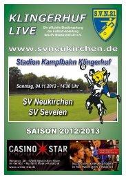 Stadionheft Nr.05 - SV Neukirchen - SV Neukirchen 21 e.V.