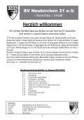 Stadionheft Nr.05 - SV Neukirchen - SV Neukirchen 21 e.V. - Page 3