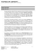 Presse-Information Ausgefallene Geschenkideen von Porsche - Page 2
