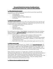 Productivity Seminar Description and Enrollment Form - Libsyn