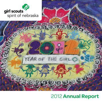 2012 Annual Report - Girl Scouts Spirit of Nebraska