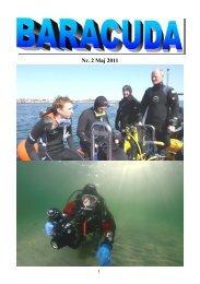 Nr. 2 Maj 2011 - Baracuda Dykkerklub