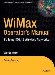 WiMax Operator's Manual