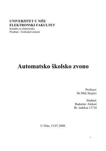 pdf - Univerzitet u Nišu