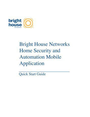 Bright House Networks Home Security and Automation Mobile ...