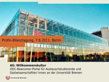 innen an der Universität Bremen - Open DC