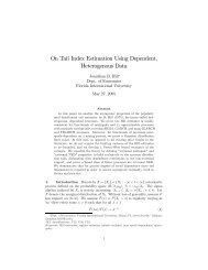 On Tail Index Estimation Using Dependent, Heterogenous Data