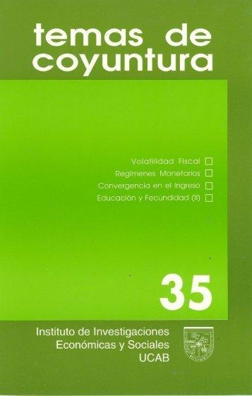 N°35 en pdf - Libros, Revistas y Tesis - Universidad Católica Andrés ...